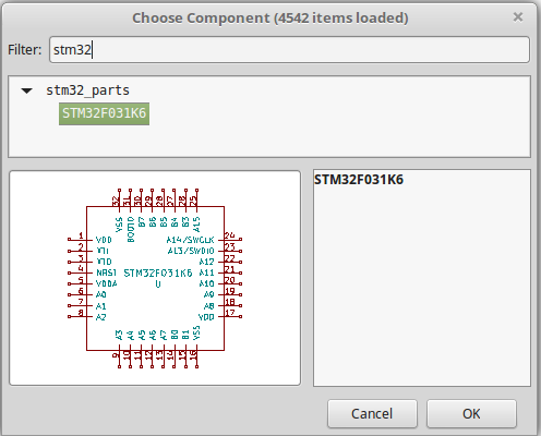 Adding the STM32F031