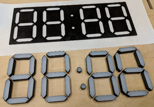 Laser-cut parts