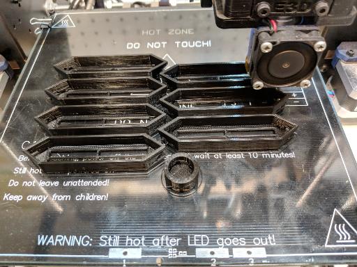 Printing segments