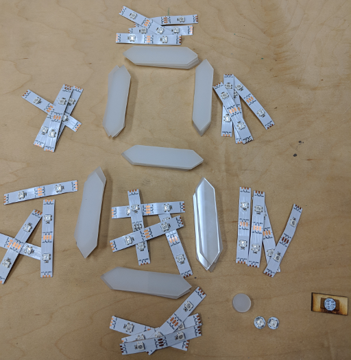 Acrylic segments
