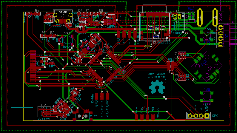 GPS Board Layout