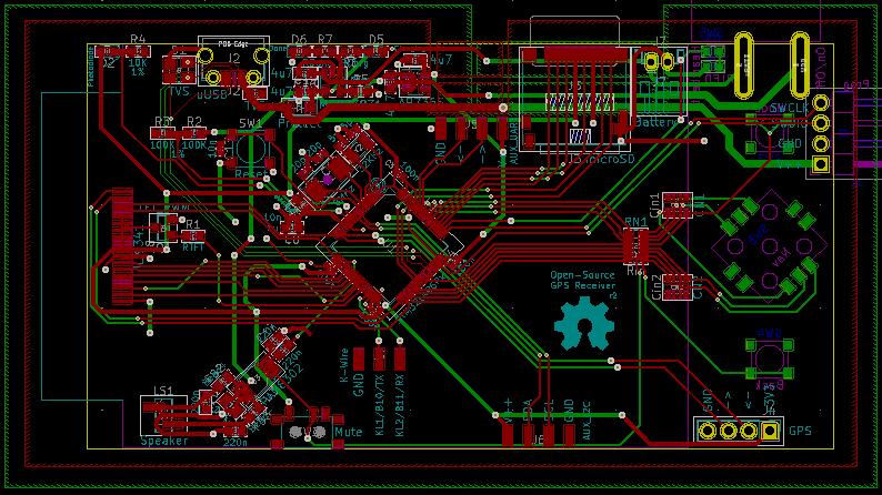 GPS Board Layout