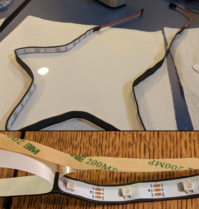 LED foam tape